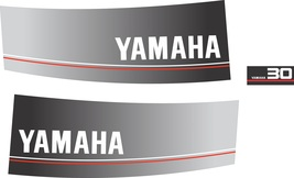 YAMAHA 30 - Outboard decal set, reproduction - $27.00