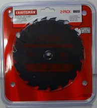 "Craftsman 37668 6-1/2"" x 18Tooth & 6-1/2"" x 24Tooth Circular Saw Blades - $13.86"