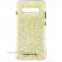 Case-Mate Protective Case for Samsung Galaxy S10+ Twinkle Stardust Gold ... - $14.95