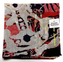 Vivienne Westwood Handkerchief hanky scarf bandana Cotton ORB L Auth New - $29.69