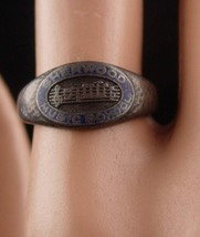 1910 Antique ring - sterling Sherwood Music School - Columbia College Chicago -  - $85.00