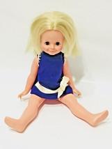 """Ideal Toy Original Doll Growing Blonde Hair 16"""" Vinyl Vintage 1971  - $33.66"""