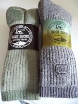 Men's10-13 Moisture Wicking 71% Wool Socks USA - $38.61