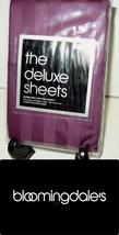 $60 The Deluxe Sheets KING PILLOWCASE SET 100% Egyptian Cotton 500TC Pur... - $24.75