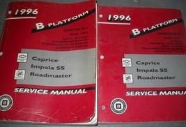 1996 Chevy IMPALA CAPRICE Buick ROADMASTER Service Shop Repair Manual SE... - $148.45