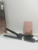 INFRARED IONIC ,BLACK ROSE GOLD PREMIUM ONE PASS TECHNOGY HAIR STRAIGHTENER image 2