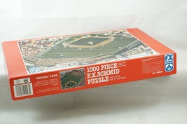 "F.X. Schmid Boston Red Sox ""Fenway Park"" 1000-Piece Jigsaw Puzzle Green Monster - $25.64"