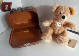 Steiff Teddy bear in a suitcase all IDs 1217 - $50.34
