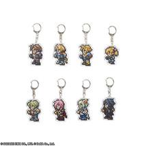 Final Fantasy DISSIDIA Acrylic Keychain x8 Zidane Tida Noctis Squall Squ... - $88.10