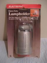 ELECTRIPAK HEAVY DUTY LAMPHOLDER, rotates 180 degrees for 150 watt max bulb - $20.98