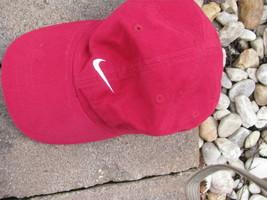 VTG Baseball HAT Cap Nike red color soft hat - $29.65