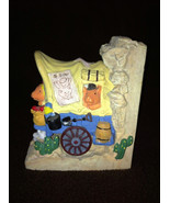 "Collectible Western Wagon Music Box ""Take Me Home Country Roads"" - $24.99"