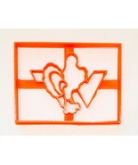 VT Virginia Tech Hokie Bird University Athletics Sports Cookie Cutter US... - $2.99