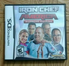Iron Chef America: Supreme Cuisine (Nintendo DS, 2008) cartridge only- I... - $6.90