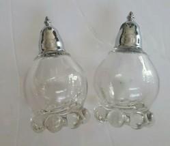 Imperial Glass Candlewick Salt & Pepper Shaker Set - $24.74