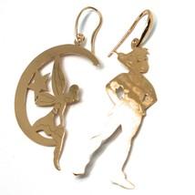 Drop Earrings 925 Silver, Peter, Fairy, Star, Moon, le Favole - $86.39