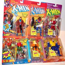 ✰ LOT 6 figure ✰ ToyBiz Figure Marvel Comics X-men X-Force Omega Gambit Bishop - $87.99