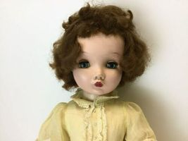 "Vintage Madame Alexander Winnie Walker ( Cissy face) 25"" Tall Green Eyes Doll image 5"