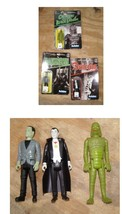 Universal Monsters Figures Frankenstein Dracula Creature From The Black ... - $38.99