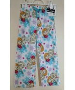Disney Frozen Girl Fleece Pajamas Pants Size 6 Elsa Anna Holiday Sleep Clothes - $16.95