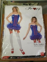 Smiffy's Women's Pin-Up Girl Sailor Blue TuTu Dress Costume, Medium - $68.00