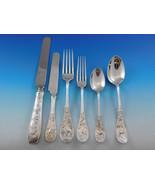 Japanese by Tiffany Co Sterling Silver Flatware Set Service 57 Pcs Audub... - $36,500.00