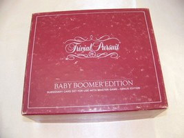 Trivial Pursuit Baby Boomer Edition Subsidiary Card Set For Use With the... - $12.32