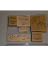 Stampin' Up IF THE HALO FITS Set 7 Angel Theme Good Friends Watering Can... - $15.30