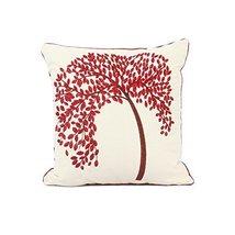 "REMSOFT 18"" X 18"" Embroidered Cotton Linen Decorative Throw Pillow Cover... - $26.46"