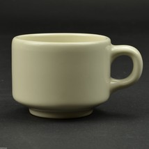 Homer Laughlin China Stackable Coffee Cup Restaurant Ware Teacup Flat Mu... - $5.99
