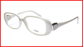 FENDI Eyeglasses Frame F900 (208) Women Acetate Cream Italy Made 52-15-1... - $177.57