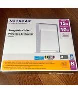 Netgear RangeMax Next Wireless N Router WNR834B Streaming Gaming Wifi NICE - $22.27