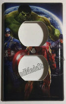 Comics Heroes iron-man Light Switch Outlet Toggle Wall Cover Plate Home decor image 8