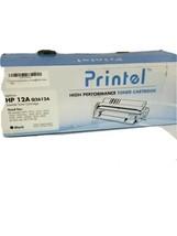 Printel -  Toner Cartridge for HP 12A (Q2612A) Black  For HP Laser Jet - $9.69