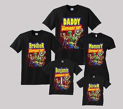 Toy Story Birthday Shirt Personalized Custom T-Shirt Family Black shirts - $19.95+