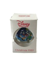 Vintage Disney Characters Christmas 1989 Merry Mickey Claus Christmas Or... - $12.86