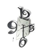 Arti Mestieri Wall Clock Made in Italy For Parts or Repair Black Wall - $24.74