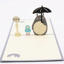 Totoro--3D Greeting Card, Pop Up Card, Pop Out Card - $4.50