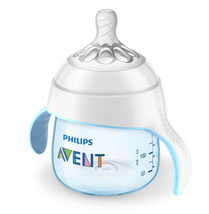 Philips Avent Natural Trainer Sippy Cup with Fast Flow Nipple and Soft S... - $10.99
