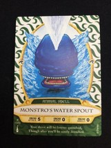 Sorcerer of the Magic Kingdom  card 13 Monstro's Water Spout - $10.00