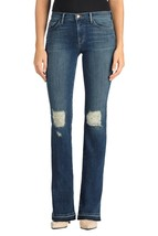 $248 J Brand - Brya Mid Rise Shredded Bootcut Jeans in Breathless - Size 31 - $62.99
