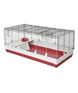 MidWest Homes for Pets Deluxe Rabbit & Guinea Pig Cage X-Large White & Red - $112.28