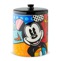 "9.5"" High Disney Britto Mickey Mouse Canister/Cookie Jar"