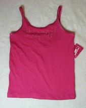 Extremely Me Girls Cami Size 6X Pink Bling New Shirt Top - $9.89