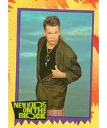Donnie Wahlberg trading card (New Kids on the Block) 1989 Topps #77 - $4.00