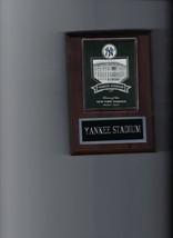 Yankee Stadium Plaque Baseball New York Yankees Ny Mlb - $2.96
