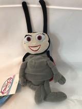"""Disney 8"""" Francis Mini Bean Bag Beanie NWT from A Bug's Life Ladybug - $2.99"""