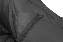 Men's Heavyweight Water And Wind Resistant Removable Hood Insulated Jacket image 11