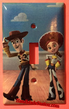 Toy Story Woody & Jessie Light Switch Duplex Outlet Wall Cover Plate Home decor image 1