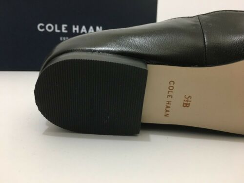 Cole Haan Allison Skim Perf II Black Leather Women's Size 5 .5 M